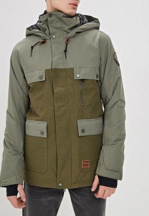 Куртка горнолыжная Billabong CRAFTMAN. Цвет: хаки