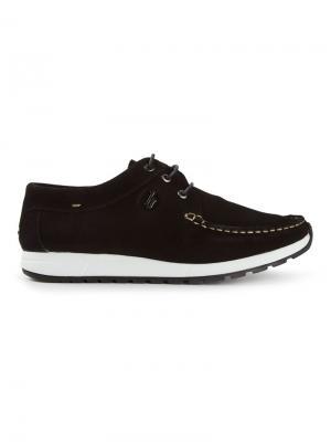 Палубные ботинки B Store. Цвет: чёрный