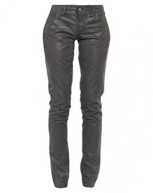 Повседневные брюки GALLIANO. Цвет: стальной серый