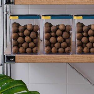 1шт Герметичный контейнер для пищевых продуктов SHEIN. Цвет: синий