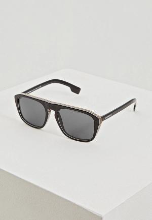 Очки солнцезащитные Burberry BE4286 379887. Цвет: черный