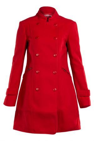Пальто Fornarina. Цвет: мультицвет