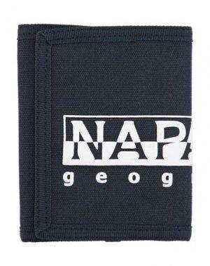 Бумажник NAPAPIJRI. Цвет: темно-синий