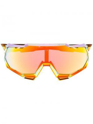 Солнцезащитные очки Speedtrap Sagan Grilamid® TR90 100% Eyewear. Цвет: красный