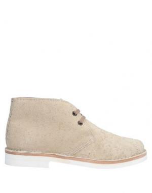 Полусапоги и высокие ботинки ARFANGO. Цвет: бежевый