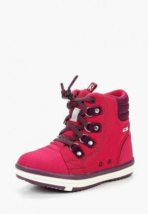 Ботинки Reima Wetter Wash. Цвет: розовый