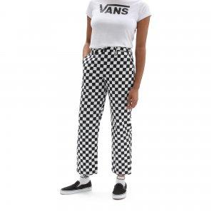 Женские брюки Printed Authentic Chino VANS. Цвет: черный_белый