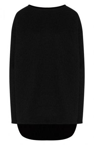 Шерстяной пуловер Yohji Yamamoto. Цвет: черный