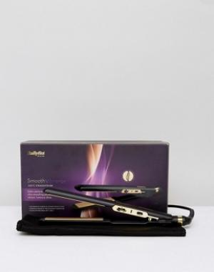 Выпрямитель для волос с вилкой британского стандарта BaByliss Smooth Vibrancy 230C-Бесцветный