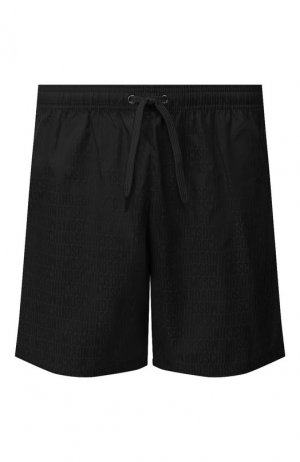 Плавки-шорты Moschino. Цвет: черный