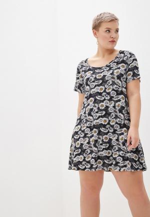 Платье Evans. Цвет: разноцветный