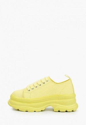 Кроссовки Escan. Цвет: желтый