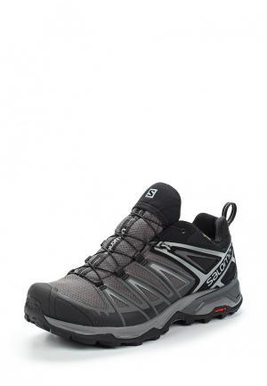 Ботинки трекинговые Salomon X ULTRA 3 GTX®. Цвет: серый