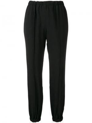 Классические брюки по щиколотку Ermanno Scervino. Цвет: черный