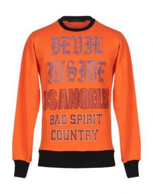 Толстовка BAD SPIRIT. Цвет: оранжевый