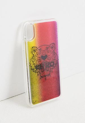 Чехол для iPhone Kenzo X/XS MAX. Цвет: разноцветный