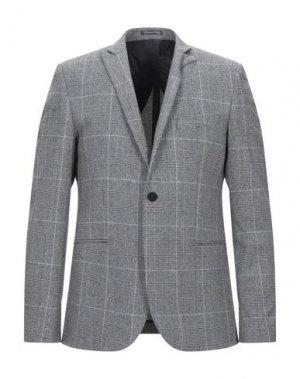 Пиджак EREDI DEL DUCA. Цвет: серый