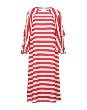 Платье миди ANTONIO MARRAS. Цвет: красный
