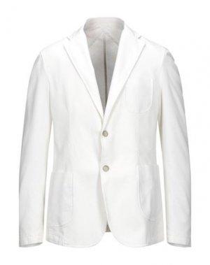 Пиджак BOMBOOGIE. Цвет: белый