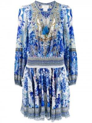 Расклешенное платье миди Camilla