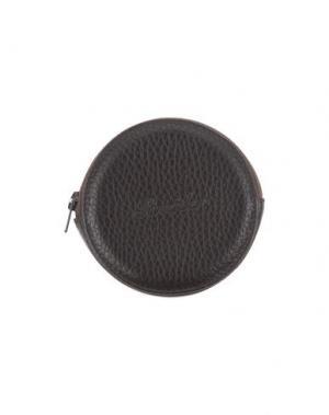 Кошелек для монет PINEIDER. Цвет: темно-коричневый