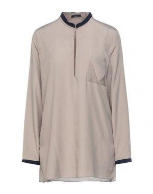 Блузка HANITA. Цвет: бежевый