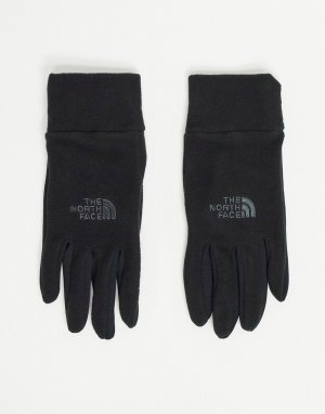 Черные перчатки Tka 100 Glacier-Черный цвет The North Face