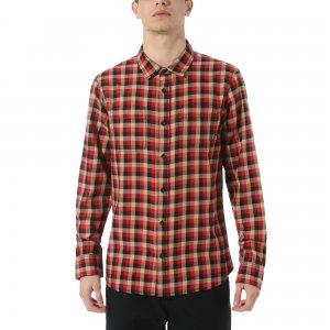 Рубашка Alameda Flannel VANS. Цвет: красный