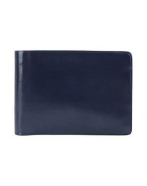 Бумажник IL BUSSETTO. Цвет: темно-синий