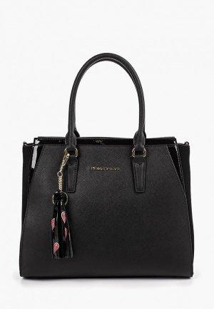 Комплект Fiato Dream сумка и брелок. Цвет: черный