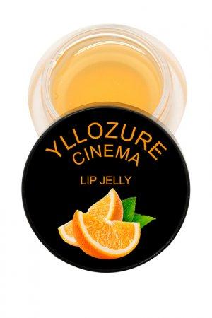 Бальзам для губ Ягодное желе YZ (Иллозур). Цвет: оранжевый