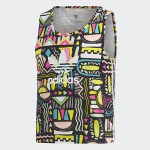 Майка Originals adidas. Цвет: белый
