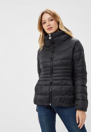 Куртка утепленная Met ME486EWCSUF8. Цвет: черный