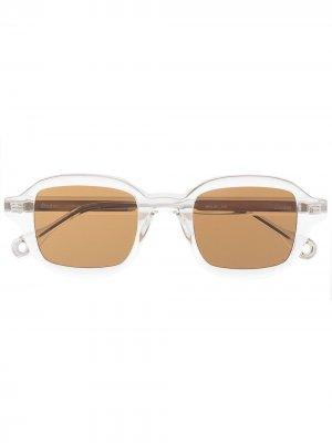 Солнцезащитные очки Illusion в квадратной оправе Etudes. Цвет: нейтральные цвета