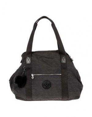 Дорожная сумка KIPLING. Цвет: черный