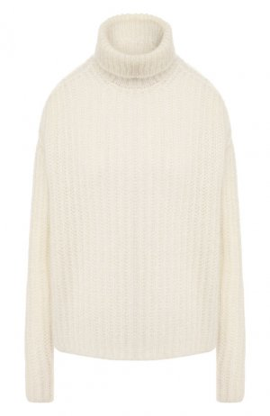 Вязаный пуловер Marni. Цвет: белый