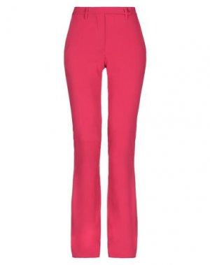 Повседневные брюки DENNY ROSE. Цвет: фуксия