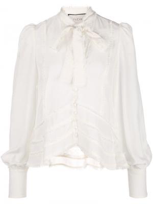 Блузка с необработанными краями Alexis