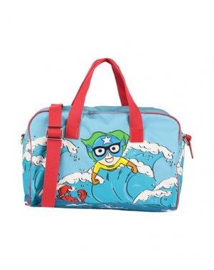 Дорожная сумка DOLCE & GABBANA. Цвет: синий
