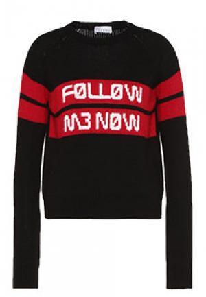 Джемпер VALENTINO RED. Цвет: черный
