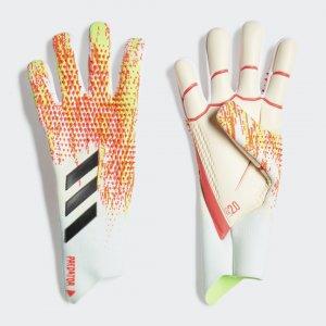 Вратарские перчатки Predator 20 Pro Performance adidas. Цвет: белый