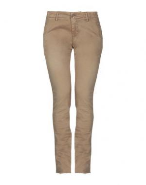 Повседневные брюки MAISON CLOCHARD. Цвет: песочный