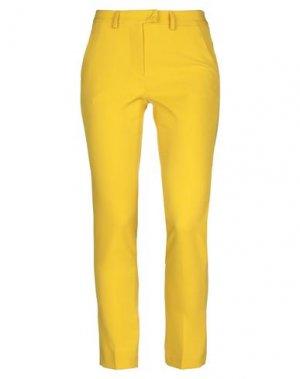 Повседневные брюки BLACK LABEL. Цвет: желтый