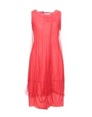 Короткое платье BLACK LABEL. Цвет: красный