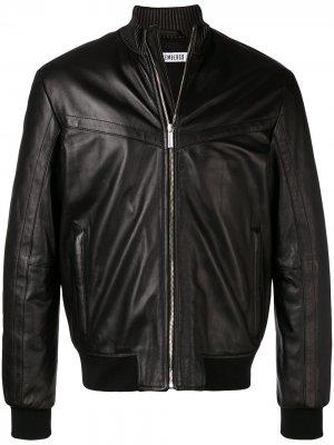 Куртка-бомбер на молнии Dirk Bikkembergs. Цвет: черный