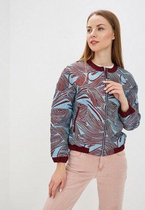 Куртка Imago. Цвет: голубой