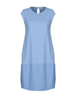Платье до колена ALPHA STUDIO. Цвет: небесно-голубой
