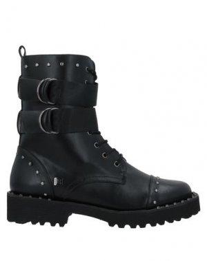 Полусапоги и высокие ботинки LAURA BIAGIOTTI. Цвет: черный