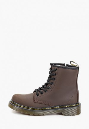 Ботинки Dr. Martens. Цвет: коричневый