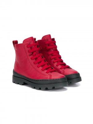 Ботинки Norte Camper Kids. Цвет: красный
